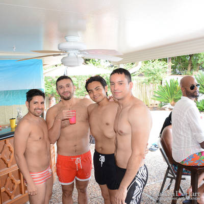 Pride Pool Party at the Home of Mike Leibbert <br><small>June 14, 2015</small>