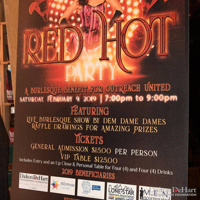 Outreach United 2019 - ''Red Hot Party'' At Neon Boots  <br><small>Feb. 9, 2019</small>