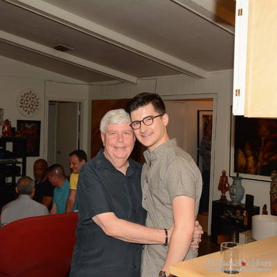 Social at the Home of John Heinzerling and Ciro Flores <br><small>April 25, 2015</small>