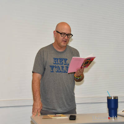 ''More Poems About Buildings And Food'' - A Reading By Gregg Shapiro At The Montrose Center  <br><small>April 4, 2019</small>