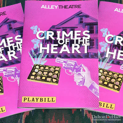 ''Crimes Of The Heart'' - Actout At The Alley Theatre  <br><small>April 25, 2019</small>