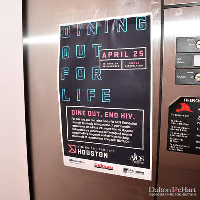 Afh 2019 - ''Dining Out For Life'' - Aids Foundation Houston  <br><small>April 25, 2019</small>