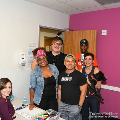 Volunteer Event at The Montrose Center <br><small>Sept. 29, 2016</small>