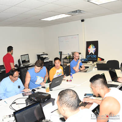 TBAC Training at Pride Office in The Montrose Center <br><small>June 10, 2017</small>