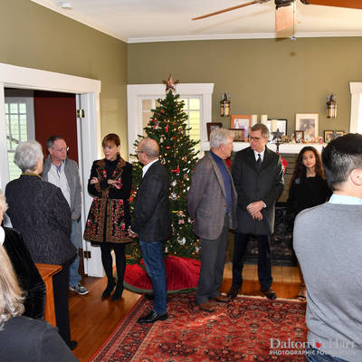 Justice-Elect Charles Spain Swearing-In Ceremony at The Home Of Charles Spain & John Adcock <br><small>Jan. 1, 2019</small>