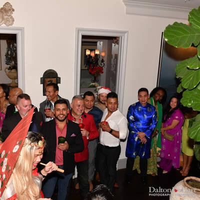 A Jolly Bollywood Christmas Party at The Home Of David Sisler & Ryan Balbas <br><small>Dec. 15, 2018</small>