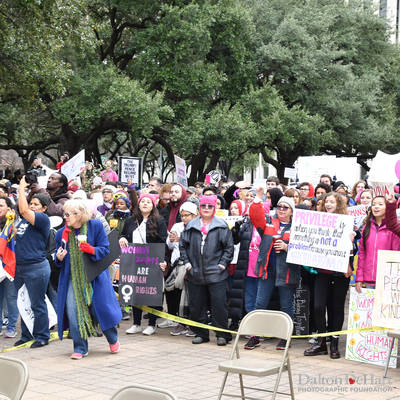 Women's March 2019 - Downtown Houston <br><small>Jan. 19, 2019</small>