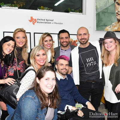 United Spinal Association of Houston - Opening Arts & Minds - Grand Opening Celebration <br><small>Feb. 2, 2019</small>