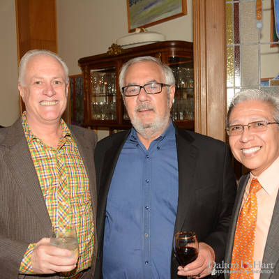 Lane Lewis Reception with Barney Frank at the Home of Michael Kemper <br><small>Oct. 8, 2015</small>