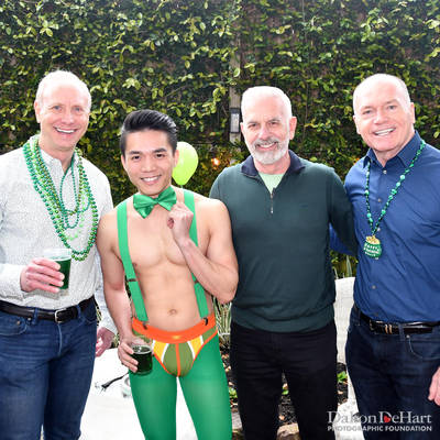 Bringin' In The Green 2019 - Benefiting The Montrose Center At The Home Of Glenn & Justin Dickson  <br><small>March 15, 2019</small>