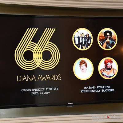 Diana Foundation 2019 - 66Th Dianna Awards With Show Hosts Sister Helen Holy & Blackberri At The Crystal Ballroom At Rice Lofts  <br><small>March 23, 2019</small>