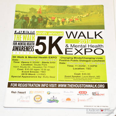 The Walk For Mental Health Awareness Luncheon With Metro - Partner With The Walk Houston - Metro Headquarters  <br><small>Aug. 1, 2019</small>