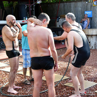 La Granja Disco & Cantina 2019 - Luchas De Lodo - Mud Wrestling Hosted By The Houston Bears  <br><small>Aug. 11, 2019</small>