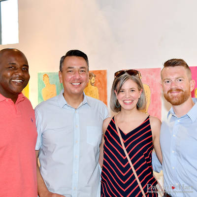 EPAH 2019 - Fundraiser For University Of Houston LGBT Alumni Association Scholarship Fund Kickoff Party At John Palmer Art  <br><small>Aug. 10, 2019</small>