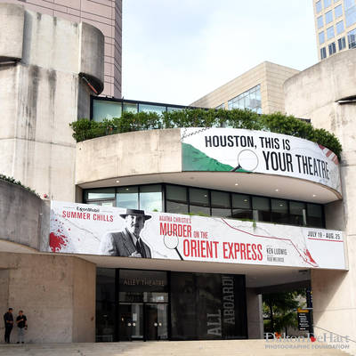 The Alley Theatre 2019 - Agatha Christie'S  ''Murder On The Orient Express'' Actout At The Alley Theatre  <br><small>Aug. 8, 2018</small>
