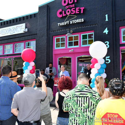 Aids Healthcare Foundation 2019 - Out Of The Closet Thrift Store Grand Opening In Houston, Texas  <br><small>Aug. 24, 2019</small>