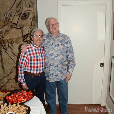 Social and President Tanner Williams' Farewell at the Home of John Heinzerling and Ciro Flores <br><small>April 8, 2017</small>
