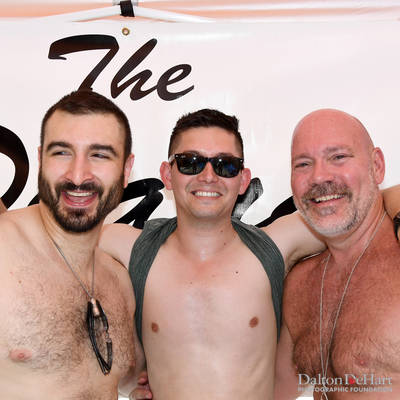 Pride Pool Party at the Home of Chuck Brown and John Share <br><small>June 11, 2017</small>
