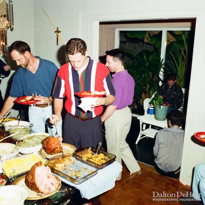 Thnksgiving Dinner <br><small>Nov. 23, 1996</small>