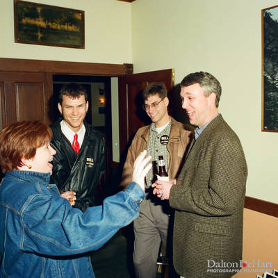 Houston Gay and Lesbian Political Caucus Reception  <br><small>Feb. 9, 1997</small>