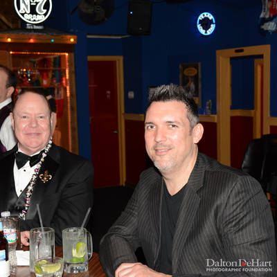 """After """"It's Magic"""" Krewe Ball 45 at Neon Boots <br><small>Jan. 31, 2015</small>"""