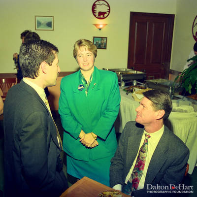 Fundraiser for Annise Parker <br><small>Nov. 24, 1997</small>