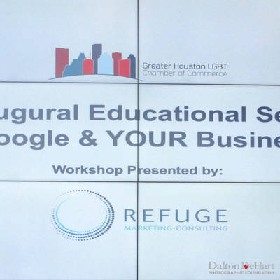 Greater Houston LGBT Chamber 2020 - Education Series Worksop 2 On Google & Your Business At Amegy Bank = T 1-21-20 <br><small>Jan. 21, 2020</small>
