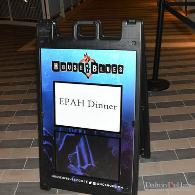 EPAH 2020 - January 2020 Dinner Meeting At The House Of Blues = T 1-21-20 <br><small>Jan. 21, 2020</small>