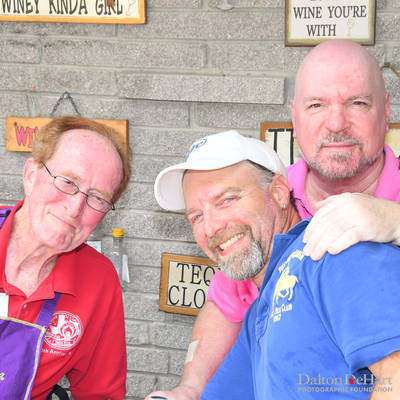 """Underwriter's Party - """"Let's Flamingle"""" at the Home of Donna Junkere <br><small>Sept. 24, 2016</small>"""