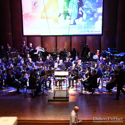 Houston Pride Band 2018 - 40Th Anniversary Celeberation Concert At The Hobby Center Zilka Hall  <br><small>Oct. 13, 2018</small>