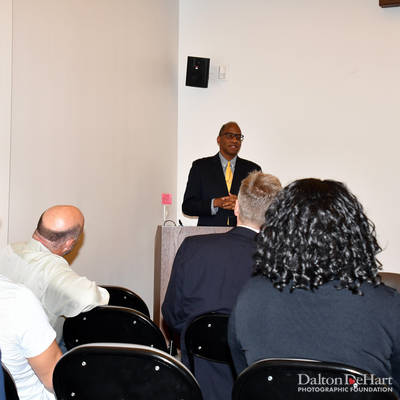 Wil Haygood 2018 - ''Showdown Thurgood Marshall And The Supreme Court'' At Carriage House At Clayton Library  <br><small>Nov. 8, 2018</small>