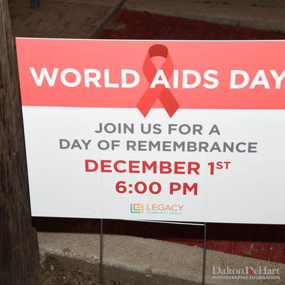 World Aids Day 2018 - Vigil At Legacy Community Health  <br><small>Dec. 1, 2018</small>