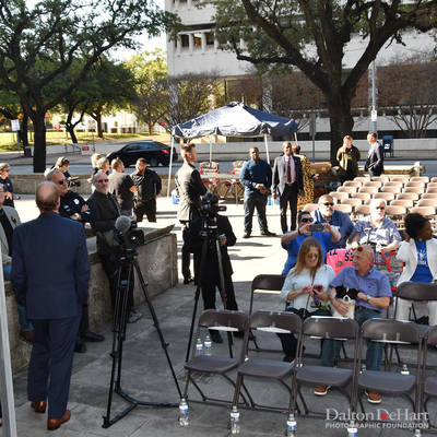 Ray Hill 2018 - Memorial At Houston City Hall  <br><small>Dec. 2, 2018</small>
