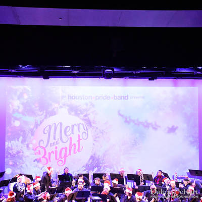Houston Pride Band 2018 - ''Merry And Bright'' - A Holiday Concert At Match  <br><small>Dec. 8, 2018</small>