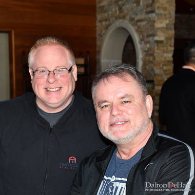 Jim Sikorski & Ed Finger 2018 - Share Your Blessings Holiday Bash At Gloria'S Latin Cuisine  <br><small>Dec. 9, 2018</small>