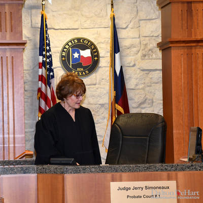 Judge Jerry Simoneaux Harris County Probate Court #1 Investiture At Harris County Civil Courthouse  <br><small>Jan. 11, 2019</small>