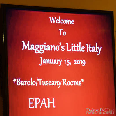EPAH 2019 - January 2019 Dinner Meeting At Maggiano'S Little Italy  <br><small>Jan. 15, 2019</small>